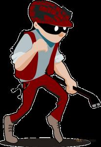 burglar breaking rules
