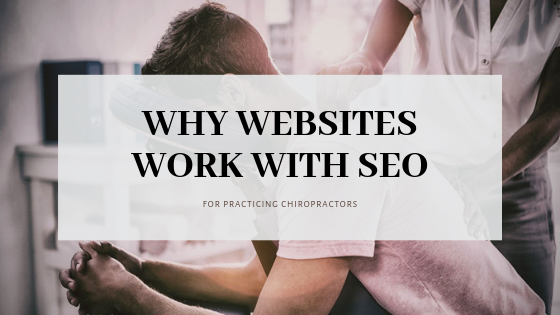 Chiropractor Website SEO Article Graphic