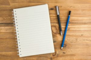 Notebook For Concrete Construction Content Writing