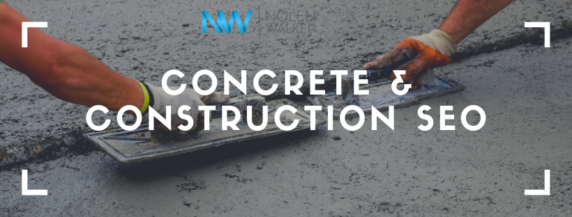 Concrete Construction SEO Graphic