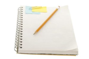 Blank Notebook Ready For Content For Pest Control Companies