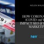 Coronavirus SEO Impact Blog Cover
