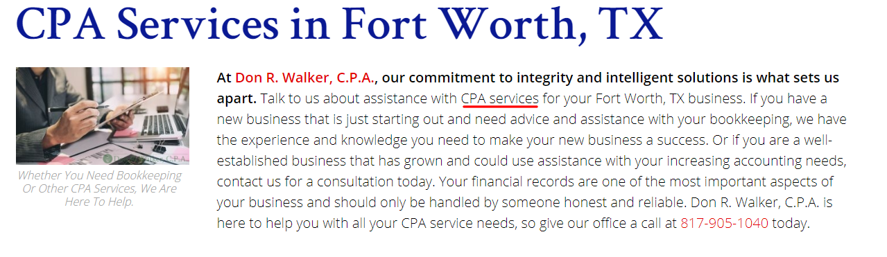 CPA On-Page SEO