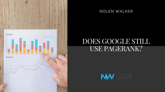 Does Google Still Use Pagerank Cover?