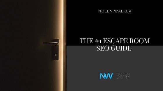 Escape Room SEO Guide Cover