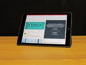 Tablet for Google My Business