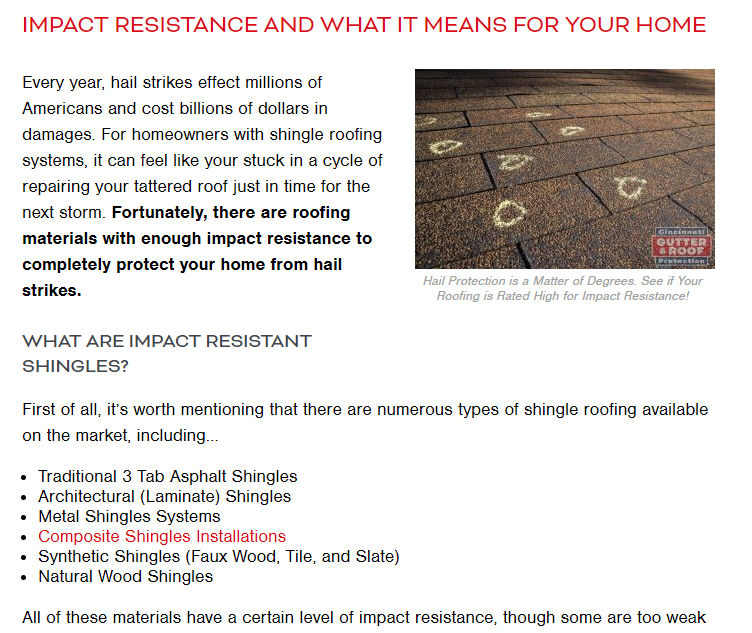 A Blog Article About Impact Resistant Shingles