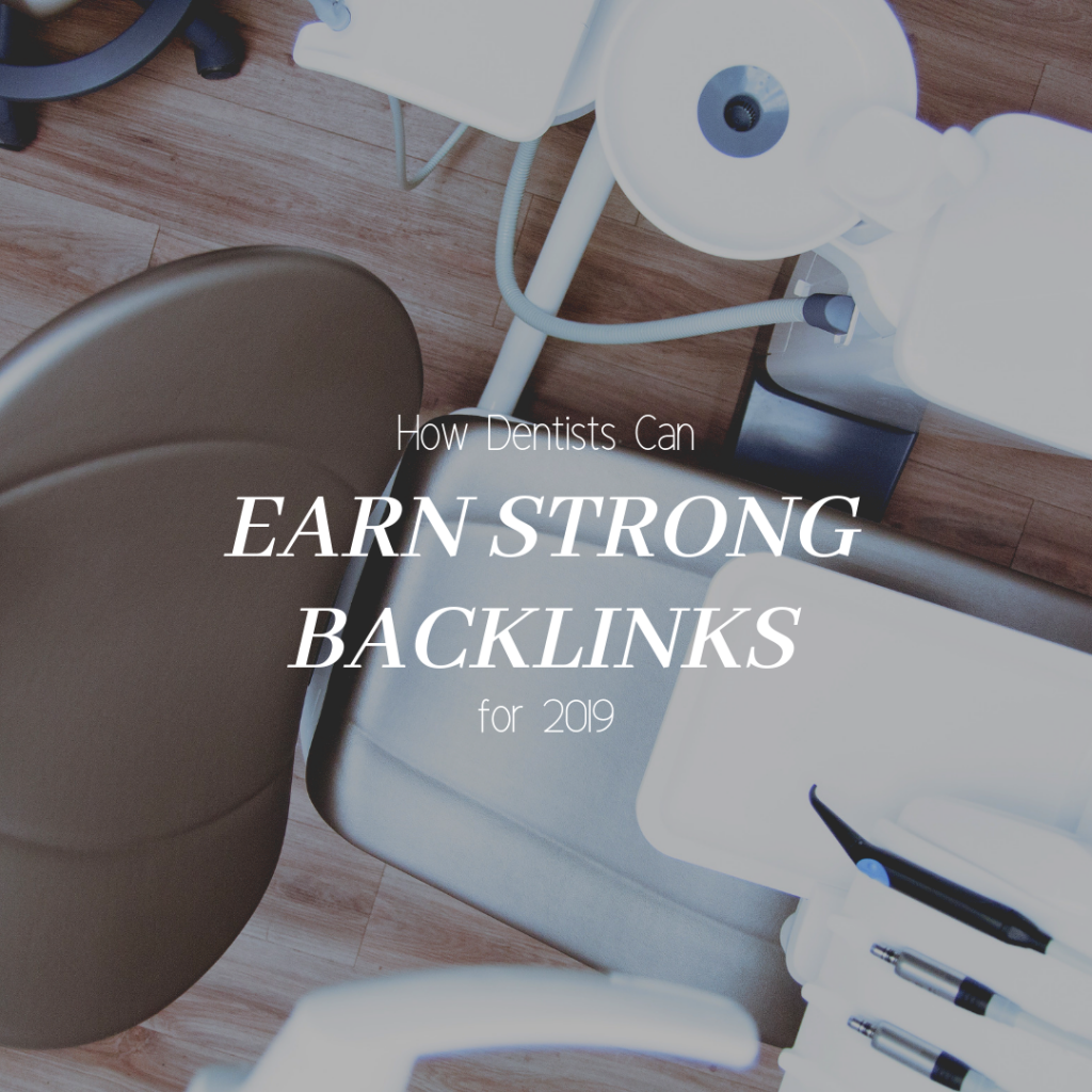 How Dental Websites Can Earn Strong Backlinks Article Cover