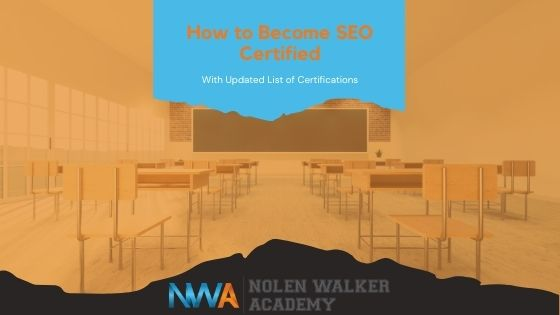 How To Become SEO Certified