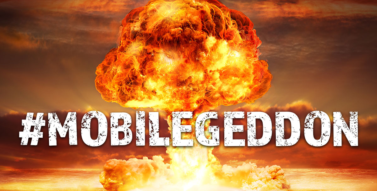 Mobilegeddon Google Update Graphic