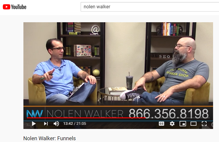 Nolen Walker YouTube Marketing