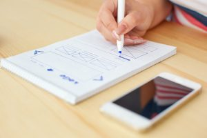 Web Designer Draws Up Plan For Plumber Mobile Friendly Website