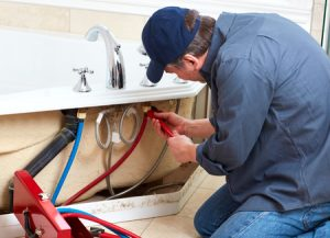 Plumber Working On Sink Thanks to PPC For Plumbers