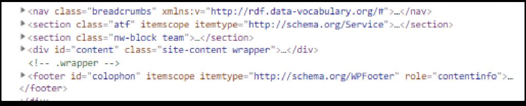 On-Site Schema Code
