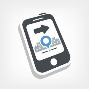 Smartphone Map Marker