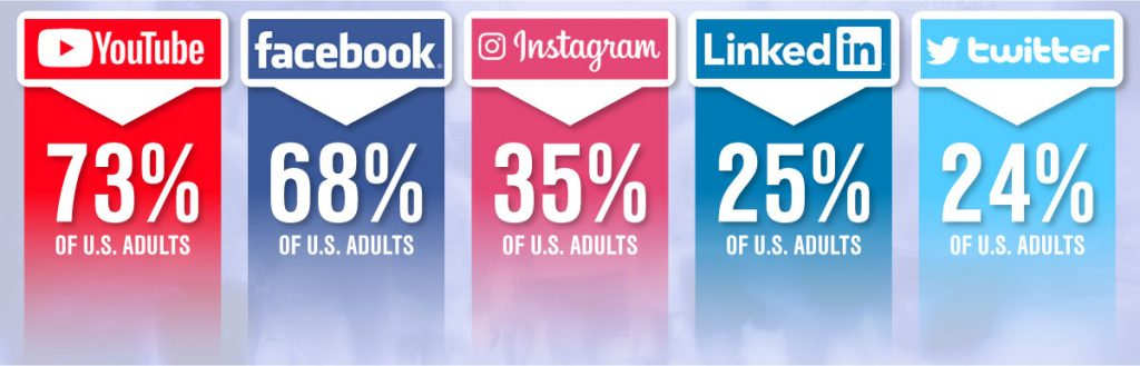 Statistics About Adult Social Media Users